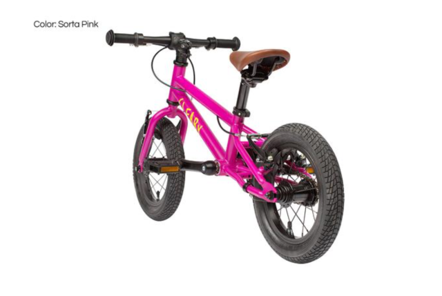gecko balance bike pink early rider
