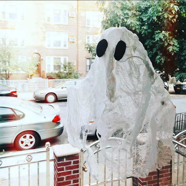 diy halloween craft ghost